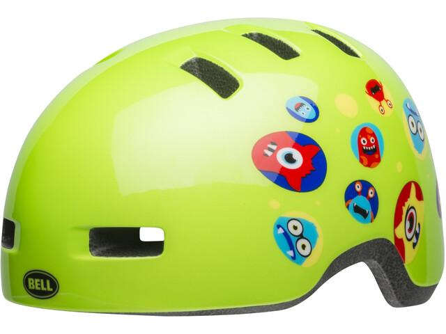Bell Lil Ripper Cykelhjelm Børn grøn (2019) | Helmets